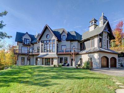 Photo for Fabulous Brand New Castle in the Sky !  Mont-Tremblant luxury at it's best !