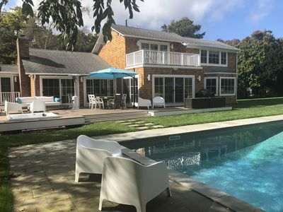 Photo for Southampton exclusive private location with beautiful heated salt water pool