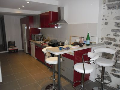 Photo for Apartment renovated, 20m from the beach, in the historic center