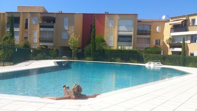 Photo for Upscale Luxury Rental Type 2, 4 * sea view terrace with pool