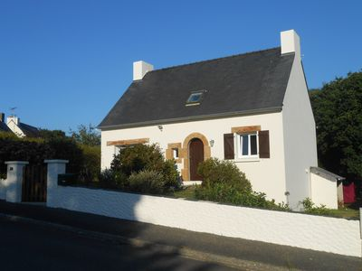 Photo for Neo Breton Style House In Village Location, Close To Beach/ Pink Granite Coast