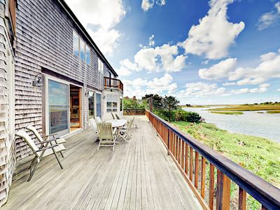 Photo for 3BR Waterfront Home on Bucks Creek Marsh w/ Private Deck, Dock & Kayaks