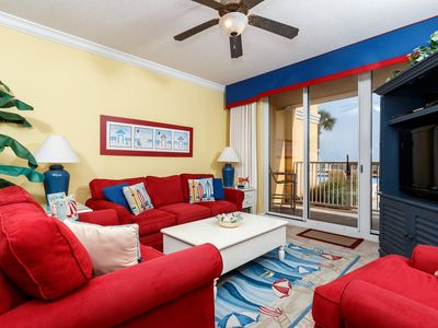 Photo for FREE Beach Service w/ 4 Chairs & 2 Umbrellas! Direct Access to Pools & Beaches!