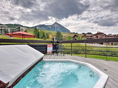 Photo for Crested Butte Condo w/Hot Tub - Walk to Ski Slopes