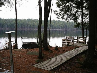 Photo for Special Secluded Cottage 3 Min Walk to Long Pond; ALL  YEAR
