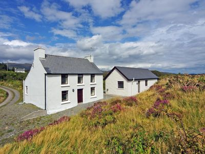 Photo for Traditional detached farmhouse near the end of the road and 200 yrds from the sea and rugged s…
