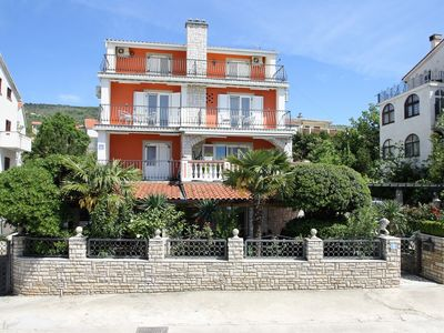 Photo for Apartment Complex Stefi Selce, 300 m from the Sea / Apartment Stefi II on Ground Floor - 300 m from the Sea