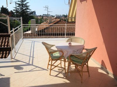 Photo for One bedroom apartment with terrace Umag