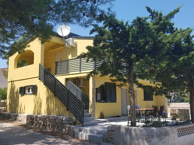 Photo for Villa Niva, new, apartment for 4 + 2 persons, 400m to the beach, quiet location