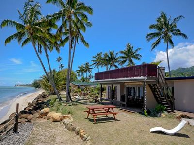 Photo for Raro Beach Bach - Whole property group booking