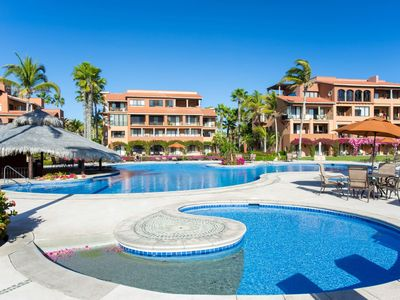 Photo for SPRING & SUMMER SPECIALS!! BEACHFRONT! Gorgeous 3 Bedroom Condo! Steps from the Sea of Cortez!!