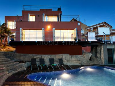 Photo for Modern Villa with Private Pool and Fantastic View