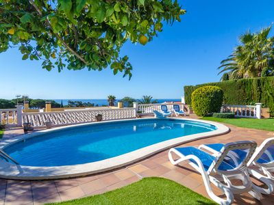 Photo for Club Villamar - Nice and cozy spanish style villa with a precious garden with lawn, private pool,...