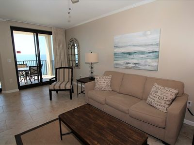 Photo for Phoenix 10 1505- Beach Front View, Large Terrace, Private Beach Access!
