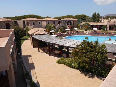 Photo for Holiday 2 bedroom apartment in a beautiful resort near Villasimius