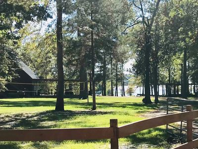 Photo for Rustic Waterfront Getaway On Lake Sam Rayburn!