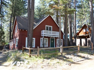 Photo for Refreshed Five Bedroom Tahoe Style Cabin - Amazing Location.