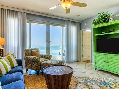 Photo for Intimate escape with private balcony, shared pool, water views and amenities