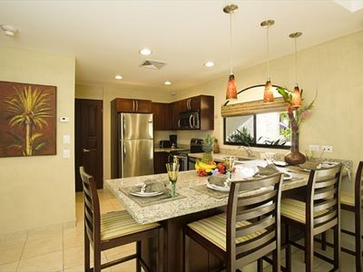 Your spacious top of the line kitchen