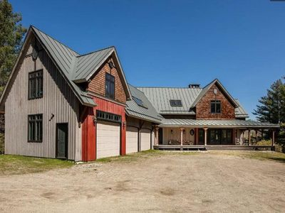 Photo for HUGE open concept home, close to OKEMO Mtn