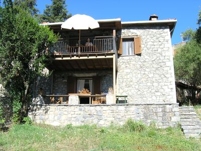 Photo for Stone house in the heart of Menalon mountain in Vytina