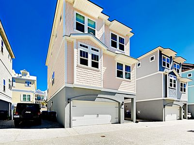 Front of Home - Guests will enjoy ample garage and driveway parking.