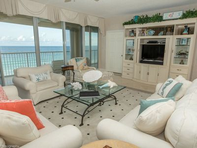 Photo for Oceania 608 - Rare 3 BR End unit right on the beach - over 2300 sf -  amazing views