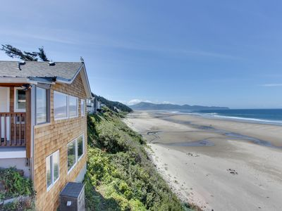 Photo for Mid-century, ground-level, modern oceanfront condo - dog friendly!