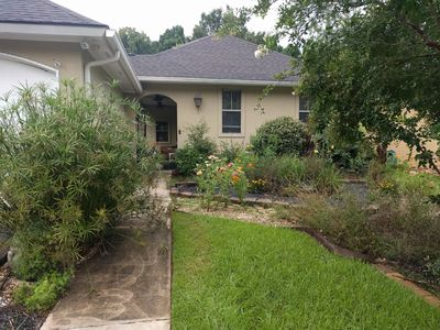 Photo for Eco-conscious solar powered home in quiet neighborhood only 6 miles from LSU