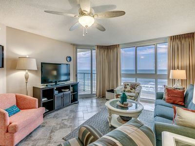 Photo for Updated Oceanfront Condo, Large Soaking Tub, Sundeck   Pinnacle - 405