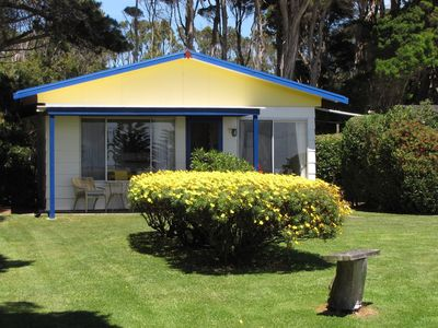 Photo for 3.5 star, King Island Accommodation, across Sea Elephant Bay. Naracoopa.