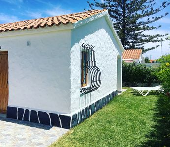 Photo for Comfortable Bungalow with Private Garden, Several Pools, Very Well Located