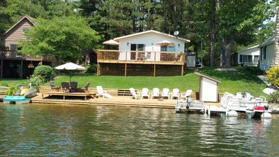 Photo for Cozy and cute cottage on Upper Silver Lake *May 31-June 7 week *FREE boat rental