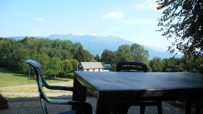 Photo for Chalet holiday between lakes and mountains