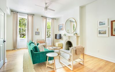 Photo for Stay with Lucky Savannah: Sprawling Parlor Level Flat, Walk to Everything