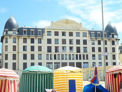 Photo for MODERN STUDIO 4 GUESTS - TROUVILLE PALACE - ON THE BEACH