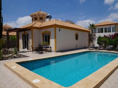 Photo for Villa Ensueno With Private Pool And hottub In Mazarron Country Club
