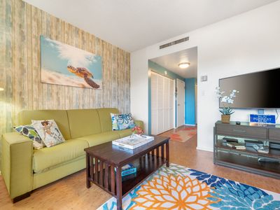 Photo for Kona Plaza#217 AMAZING LOCATION! IN HEART OF KONA TOWN! AC & Elevators!