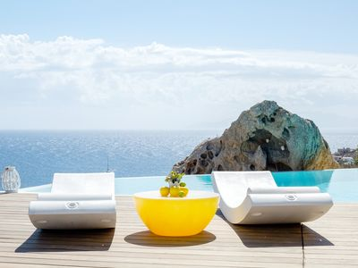 Photo for VILLA VERA SUPER PARADISE MYKONOS, 3 BEDROOMS 3 BATHROOMS, PRIVATE POOL, UP TO 6 GUESTS !