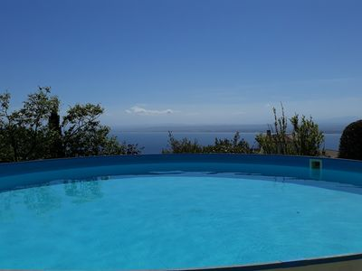 Photo for Very large apartment, spectacular view of the Bay of Roses and the Pyrenees