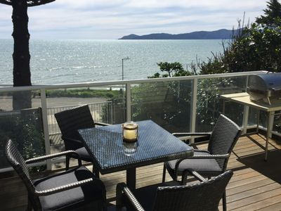 Photo for Beachfront  Raumati South