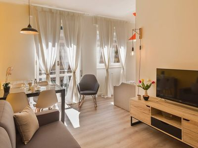 Photo for De Angeli apartment in Fiera with WiFi & air conditioning.