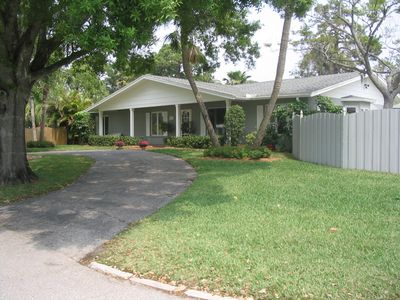 Photo for Bike to Siesta Key, quiet neighborhood, large home with LOCAL owners!