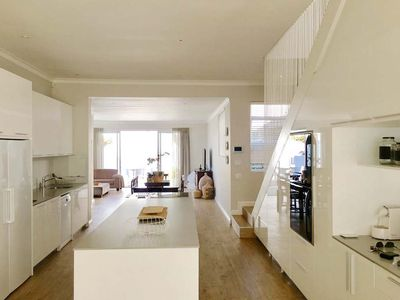 Photo for 3 Bedroom, 3 bathroom modern light spacious Cottacge in the heart of Sea Point