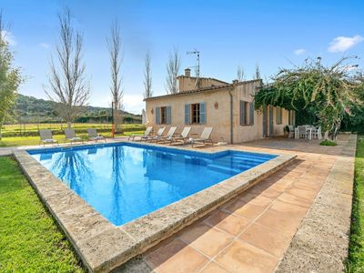 Photo for Beautiful and spacious Finca for 6 persons with pool, secluded location and clos
