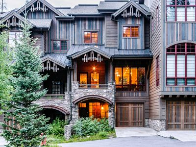 Photo for Base Camp 476 by WPLCo | Luxury Townhome | Walk to Slopes | New Decor ! Sleeps 12