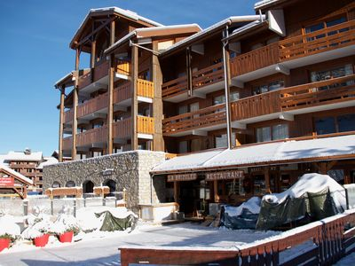 Photo for Ski-in ski-out Apartment for 5 Persons, No 7, Olympie 1, free Wifi