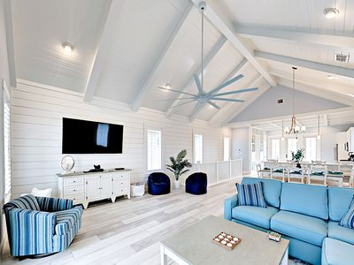 Living Area - Welcome to Port Aransas! This Palmilla Beach house is professionally managed by TurnKey Vacation Rentals.