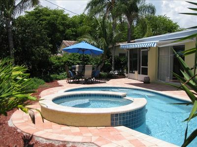 Photo for Tropical Dream Heated Pool Home