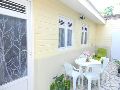 Photo for Cottage brand new air-conditioned and comfortable 1 minute from the beach